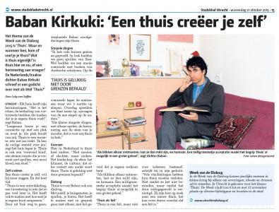 Stadsblad Utrecht oktober 2015