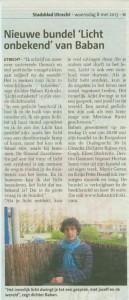 artikel stadsblad mei 2013
